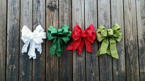 Christmas Bow, Holiday Bow, Wreath Bow, Wedding Bow