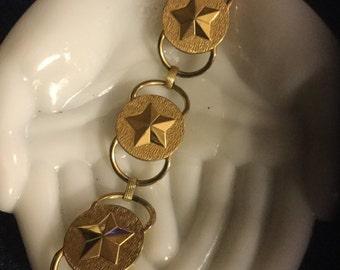 Vintage Gold toned Sara Coventry Bracelet