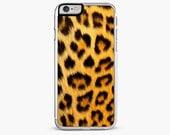 iPhone 7 Case, iPhone 7 Plus Case, Leopard Skin