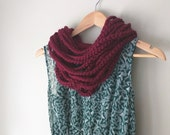 Barn Red Chain Scarf / Sh...