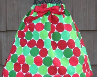 Christmas dots skirt :SK013