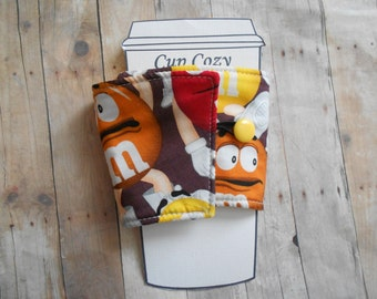MnM Coffee Cozy