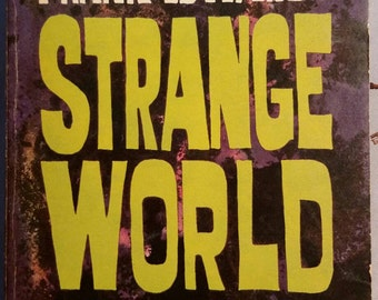Strange World by Frank Edwards / Vintage Sci fi / UFO paperback