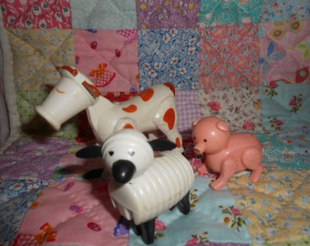 Fisher Price Little People Cow, Pig, Sheep