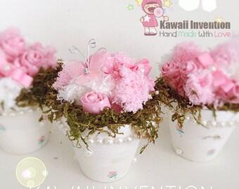 Kawaii Flower Pots Trio Set