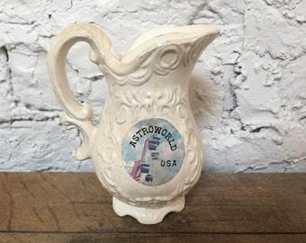 Ceramic Astroworld pitcher-shaped shaker