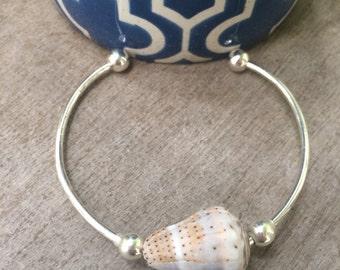 Hawaiian Cone Shell Cuff Bracelet