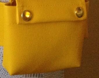 Sunshine Yellow Utility Pocket