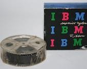 Vintage IBM Superior Nylon Ribbon - General Purpose Black 50 Inking 18 Yds.