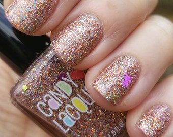 Halloween Fairy - Fall Into Halloween collection -handmade glitter nail polish