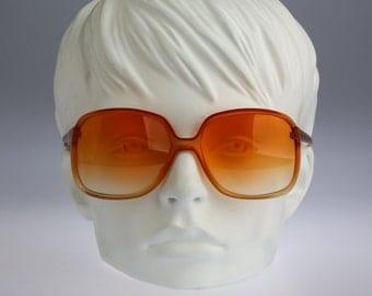 Silhouette 242 422, Vintage oversized square sunglasses, 70s rare and unique / NOS