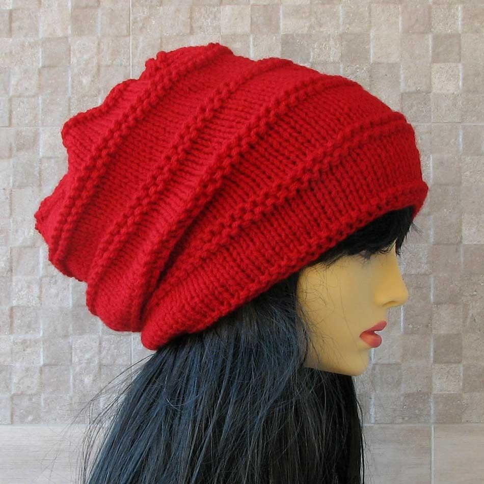 Knitting Pattern For Dreadlock Hat : Warm Dread Hat Dreadlocks Cover Up Plain Knit Dread Hat Baggy