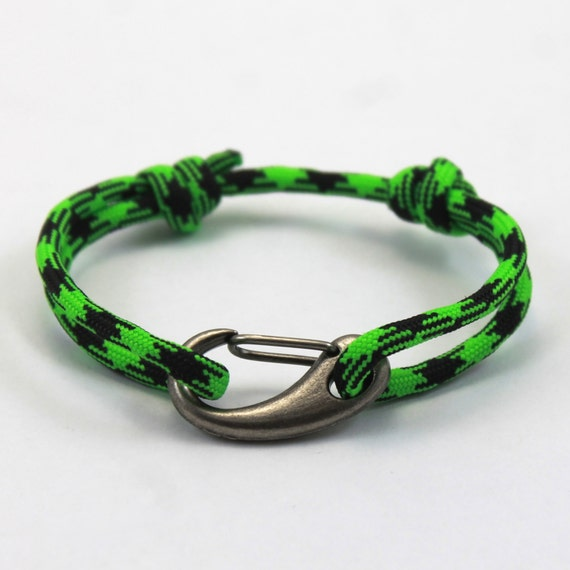 custom mens bracelet paracord bracelet clasp by