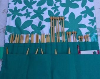 Knitting Needle case Scandinavian Design