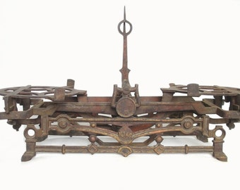 Antique European Cast Iron Scale 10 kg