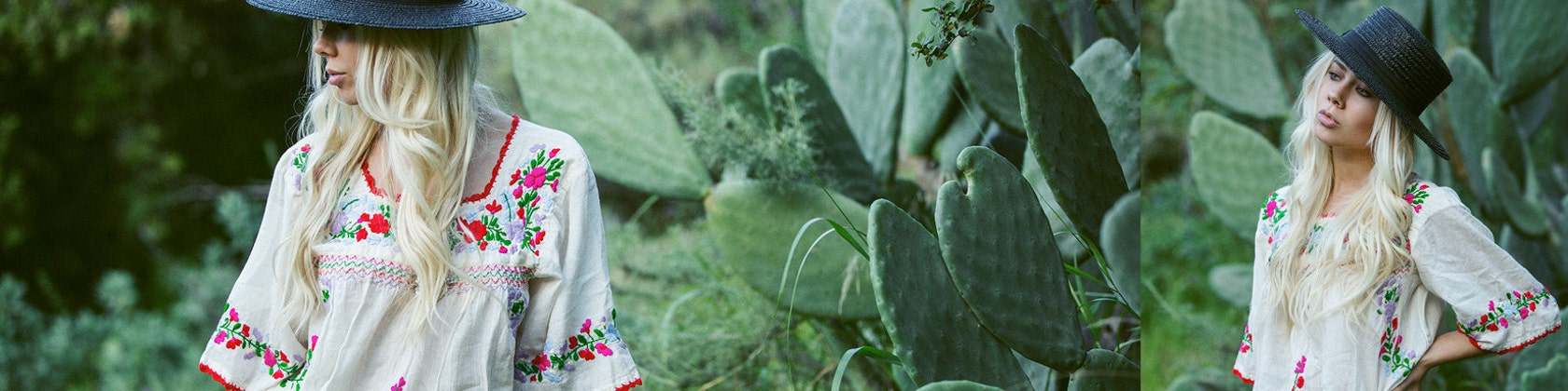 embroidered mexican peasant top blouse amp dress by sirenology