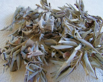 Sage Loose, White Sage, Smudging Herb , Sage Tea