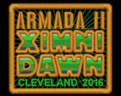 Armada II Ximni Dawn Cleveland 2016 Iron-On Patch - Green
