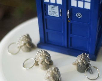 Doctor Who Weeping Angel Key Chain