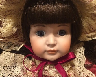 Kingstate Dollcrafter MAY Limited Editon Porcelain Doll Prestige Collection