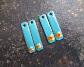 Custom Order for Beth - Enameled Sticks with Murrine