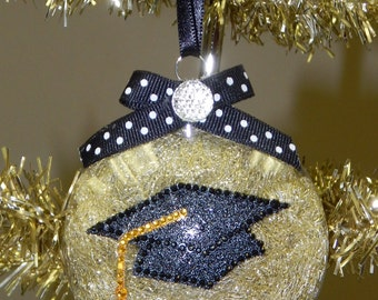 Bling Graduate Class of 2016 Ornament-Can be Customized!