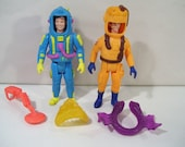 Lot of 32Vintage Ghostbusters Super Fright Features Action Figures, Peter Veckman & Ray Stantz 1989