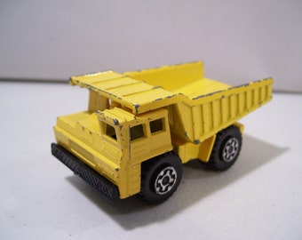 Vintage Matchbox Superfast Die-Cast Faun Dump Truck No. 58, Lesney, 1976