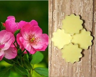 Jasmine Rose Lotion Bars (4) - 100% Natural, Non-Toxic and Made to Order!