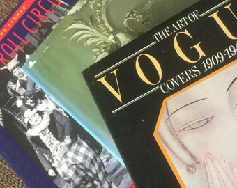 Vintage Books Rock Roll Circus Irish Architecture Vogue Covers