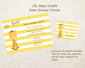 Oh, Baby Giraffe Combo