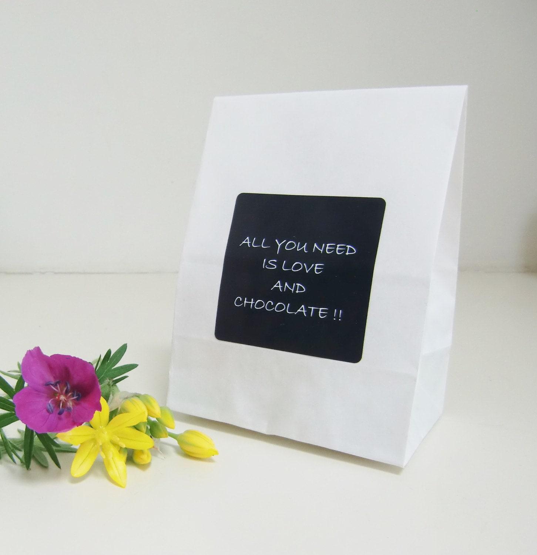 150 LOVE Amp CHOCOLATE Wedding Favor Bags Candy Bar Bags Wedding
