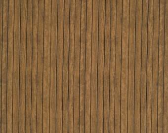 Wood Panels Brown - Elizabeth's Studio 357-BROWN (sold by the 1/2 yard)