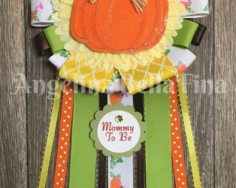 NEW Lil' Pumpkin Mommy To Be Corsage