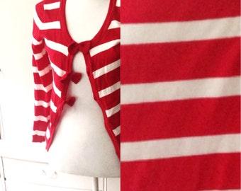 Knitted nautical jacket
