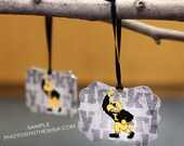 University of Iowa Metal Ornament: 'Herky'