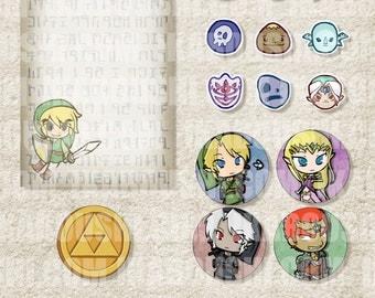 Legend of Zelda ゼルダの伝説 Digital Art File
