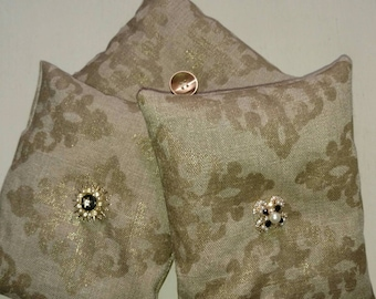 French lavender and linen sachet