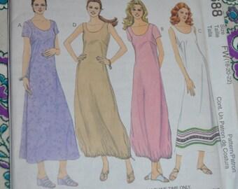 McCalls 2688  Misses Dresses  Sewing Pattern - UNCUT - Size 18 20 22