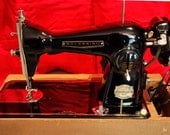 Restored Precision Sovreign 040 Vintage Sewing Machine, by Stagecoach Road, with Free Shipping and Free Service Guaranty