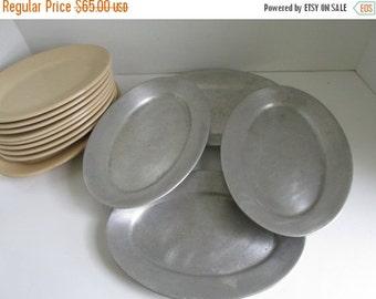 SALE Wagner Ware Diner Grill Plates Platters Oval Serving Platter Steak Platter Restaurant Platters Grilling Plates Wagner ware sidney -0- s