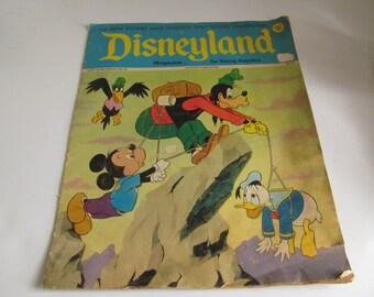 1972 Disneyland Comic Book Vintage Disneyland Magazine Vintage Disneyland Collectibles Vintage Mickey Mouse Goofy Donald Duck