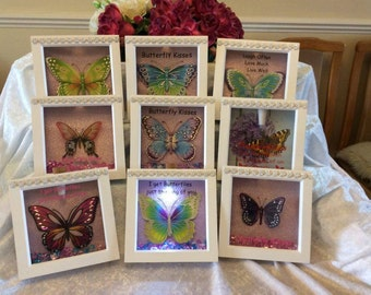 Butterfly  Frames with Butterfly Quotes and Sayings