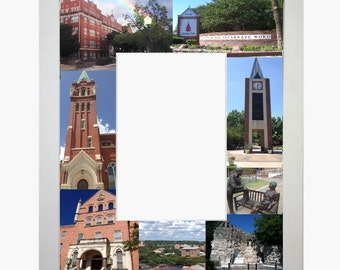 University of the Incarnate Word Picture Frame Photo Mat Personalized Unique Gift School Graduation