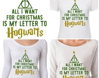 Hogwarts harry potter christmas