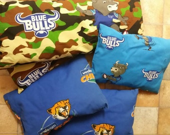 South African Rugby Toss Pillows