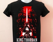 FIX Final Fantasy XIV Heaven Sword King Thordan and Knight of the round summoner  - Unisex Adult T-Shirt Black Tshirt featured image