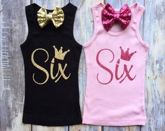 Girls Birthday Shirt, First Birthday Shirt, Birthday Outfit, Birthday Tank Top, Glitter Shirt, Personalized Girls Shirt, One, Two, Three
