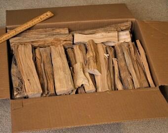 Hickory smoking wood, 21 lbs.