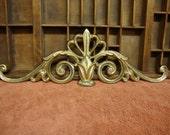 Ornate Brass Swag